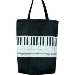 Torebki klasyczne damskie: Muzyczna Szoperka -torba na zakupy