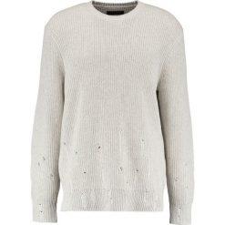 AllSaints IVANN CREW Sweter ecru white. Białe kardigany męskie marki AllSaints, l, z bawełny. W wyprzedaży za 519,20 zł.