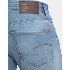GStar 3301 DECONSTRUCTED SKINNY Jeans Skinny Fit medium vintage aged. Czerwone rurki męskie marki G-Star, l, z napisami. Za 469,00 zł.