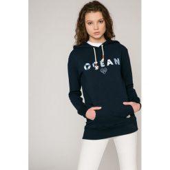Femi Stories - Bluza Ocean. Szare bluzy z kapturem damskie marki Femi Stories, m, z nadrukiem, z bawełny. W wyprzedaży za 199,90 zł.