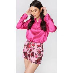 NA-KD Trend Szorty z wysokim stanem i nadrukiem - Pink,Multicolor. Czarne szorty damskie z printem marki bonprix. Za 161,95 zł.