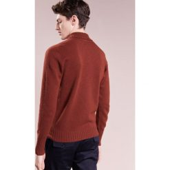 Drumohr Sweter ruggine. Brązowe swetry klasyczne męskie marki Drumohr, m, z materiału. W wyprzedaży za 543,95 zł.