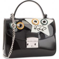 Torebka FURLA - Candy Climing 978655 B BTH4 I73 Onyx/Toni Petalo. Czarne torebki klasyczne damskie marki Furla, z tworzywa sztucznego. Za 895,00 zł.