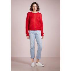 Agolde CIGARETTE LOW SLUNG Jeansy Straight Leg vale. Niebieskie jeansy damskie Agolde, z bawełny. W wyprzedaży za 499,50 zł.