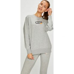 Nike Sportswear - Bluza. Szare bluzy rozpinane damskie Nike Sportswear, m, z nadrukiem, z bawełny, bez kaptura. W wyprzedaży za 229,90 zł.