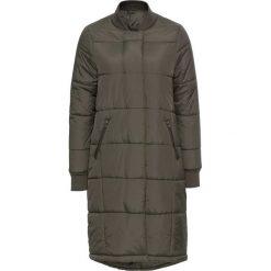 Płaszcze damskie pastelowe: Płaszcz pikowany bonprix oliwkowy