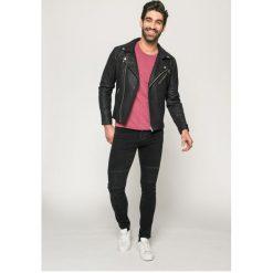 Only & Sons - Jeansy Spun Biker. Szare jeansy męskie slim marki Only & Sons, z bawełny. W wyprzedaży za 99,90 zł.