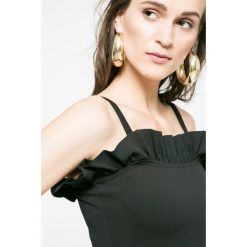 Missguided - Sukienka. Szare sukienki mini marki Missguided, na co dzień, z elastanu, casualowe, dopasowane. W wyprzedaży za 49,90 zł.