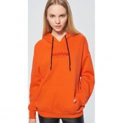 Bluza z nadrukiem - Pomarańczowy. Brązowe bluzy z nadrukiem damskie marki Cropp, l. Za 99,99 zł.