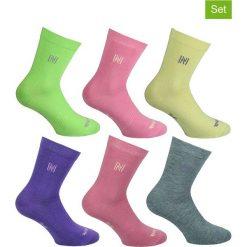 Skarpetki damskie: Podkolanówki (6 pary) z kolorowym wzorem