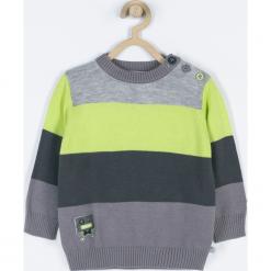 Sweter. Szare swetry chłopięce marki ROBOTS, na lato, z bawełny. Za 69,90 zł.