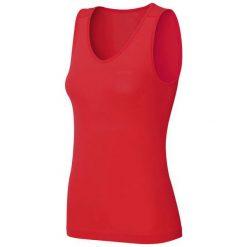 Podkoszulki damskie: Odlo Koszulka damska Singlet v-neck Evolution X-LIGHT czerwona r. S (182051)