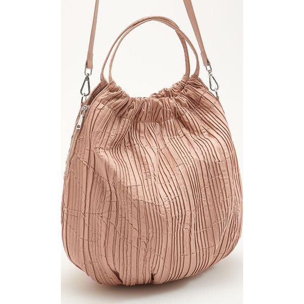 d8f02f020c1bc Torebka typu worek - Różowy - Różowe torebki klasyczne damskie ...