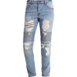 Spodnie męskie: Only & Sons ONSSPUN BIKER Jeansy Zwężane blue denim