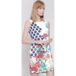 Sukienki: Biała Sukienka Lost In Flowers