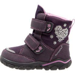 Lurchi KIRI SYMPATEX Śniegowce aubergine purple. Fioletowe buty zimowe damskie marki Lurchi, z materiału. W wyprzedaży za 160,30 zł.