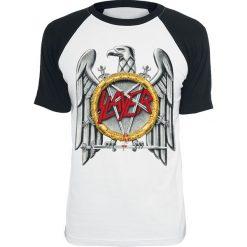 T-shirty męskie: Slayer Eagle T-Shirt biały/czarny