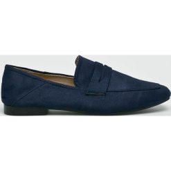 Answear - Mokasyny Lily Shoes. Czarne mokasyny damskie ANSWEAR, z gumy. W wyprzedaży za 79,90 zł.
