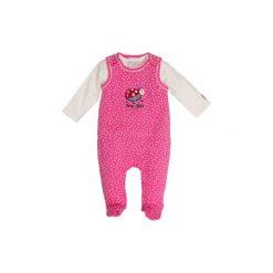 Salt and Pepper  Baby Glück Girls Rampersy Biedronka pink - Gr.Niemowlę (0 - 6 miesięcy). Różowe pajacyki niemowlęce Salt and Pepper, z bawełny. Za 85,00 zł.