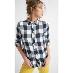Koszule jeansowe damskie: Koszula w kratę