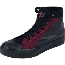 Buty sportowe męskie: Black Premium by EMP Walk The Line Buty sportowe czarny/czerwony