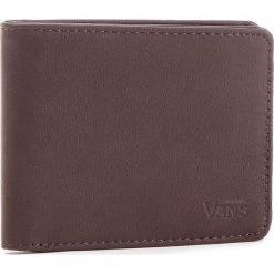 Duży Portfel Męski VANS - Drop V Bifold W WN0A31J8DRB Dark Brown 454. Brązowe portfele męskie marki Vans, ze skóry ekologicznej. Za 119,00 zł.