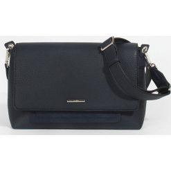 Parfois - Torebka Riscada. Czarne torebki klasyczne damskie marki Parfois, w paski, z materiału, duże. Za 139,90 zł.