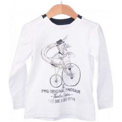 Primigi T-Shirt Chłopięcy 104 Biały. Białe t-shirty chłopięce Primigi. W wyprzedaży za 59,00 zł.