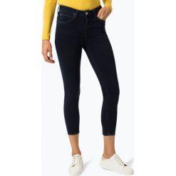 Lee - Jeansy damskie – Scarlett High Cropped, niebieski. Niebieskie spodnie z wysokim stanem marki Lee, z jeansu. Za 439,95 zł.