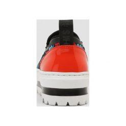 MSGM Półbuty wsuwane black/orange/turqouise. Niebieskie trampki i tenisówki damskie MSGM, z materiału. W wyprzedaży za 739,60 zł.