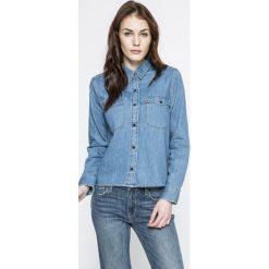 Levi's - Koszula. Brązowe koszule jeansowe damskie marki Levi's®, l, casualowe, z długim rękawem. W wyprzedaży za 249,90 zł.