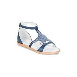 Sandały Dziecko  Acebo's  SARINO. Niebieskie sandały dziewczęce Acebo's. Za 239,20 zł.