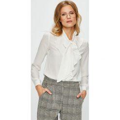 Only - Koszula. Szare koszule damskie ONLY, s, z materiału, eleganckie, z długim rękawem. Za 119,90 zł.