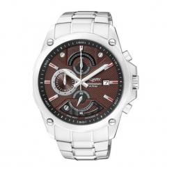 """Zegarek """"IA8-610-91"""" w kolorze srebrno-brązowym. Brązowe, analogowe zegarki męskie Dugena & Nautec No Limit, ze stali. W wyprzedaży za 359,95 zł."""