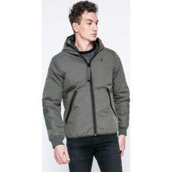 G-Star Raw - Kurtka. Szare kurtki męskie przejściowe marki G-Star RAW, l, z bawełny, retro, z kapturem. W wyprzedaży za 529,90 zł.