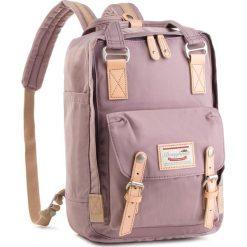 Plecak DOUGHNUT - D010-0074-F  Macaroon Lilac. Fioletowe plecaki damskie Doughnut, z materiału. Za 349,00 zł.