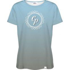 Colour Pleasure Koszulka damska CP-030 292 niebiesko-szara r. M/L. Różowe bluzki damskie marki Colour pleasure. Za 70,35 zł.