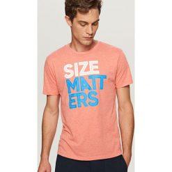 T-shirty męskie: T-shirt size matters – Pomarańczo