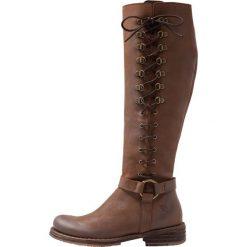 Felmini COOPER Kowbojki i obuwie motocyklowe james catanho. Brązowe buty zimowe damskie marki Felmini, z materiału. Za 929,00 zł.