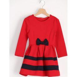 Sukienki niemowlęce: Czerwona Sukienka Sailor