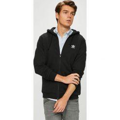 Adidas Originals - Bluza. Czarne bejsbolówki męskie adidas Originals, l, z nadrukiem, z bawełny, bez kaptura. W wyprzedaży za 259,90 zł.