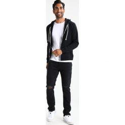 Abercrombie & Fitch Jeansy Slim Fit black. Czarne jeansy męskie relaxed fit Abercrombie & Fitch. Za 409,00 zł.