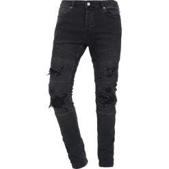 Topman PETER Jeans Skinny Fit black. Czarne jeansy męskie Topman. W wyprzedaży za 269,10 zł.