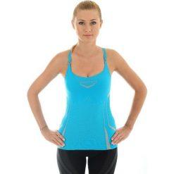 Bluzki sportowe damskie: Brubeck Koszulka damska Fitness W niebieska r. M (CM10070)