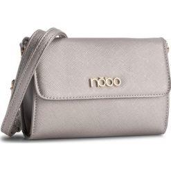 Torebka NOBO - NBAG-C3605-C022 Srebrny. Szare torebki klasyczne damskie marki Nobo, ze skóry ekologicznej. W wyprzedaży za 89,00 zł.