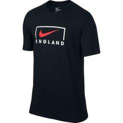 Koszulki sportowe męskie: Nike Koszulka męska EC16 Swoosh UK Tee czarna r. S (809533 010)