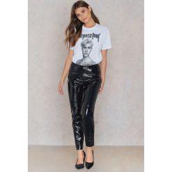 T-shirty damskie: Amplified T-shirt Shirtless – White