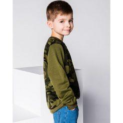 Bluzy chłopięce rozpinane: BLUZA DZIECIĘCA BEZ KAPTURA KB010 - CIEMNOZIELONA