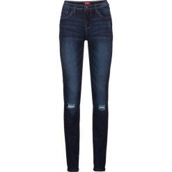 """Dżinsy """"multi-stretch"""" SKINNY bonprix ciemnoniebieski. Niebieskie jeansy damskie skinny bonprix, z jeansu. Za 109,99 zł."""