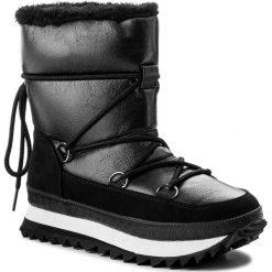 Śniegowce JENNY FAIRY - LS4331-02 Czarny. Czarne buty zimowe damskie Jenny Fairy, z materiału. Za 169,99 zł.